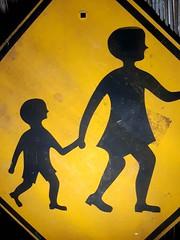 1970s SA Highways Department 'Children' sign
