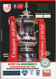 Ely City v Biggleswade - FA Cup First Round Qualifying (2020/21)