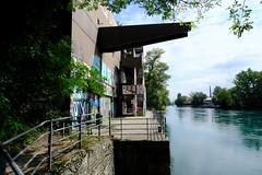 Station de pompage de Saint-Jean @ Sentier des Falaises @ Geneva