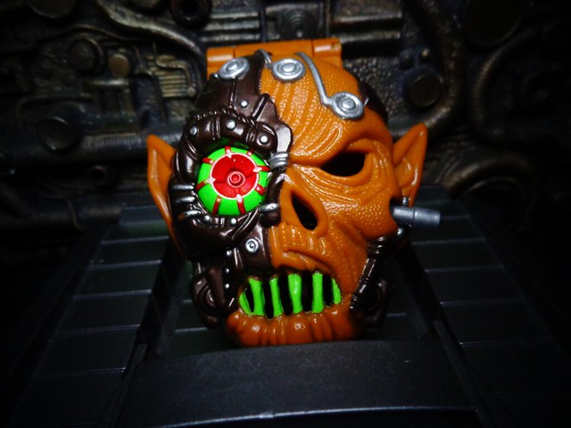 Mighty Max Vs. Skull Warrior