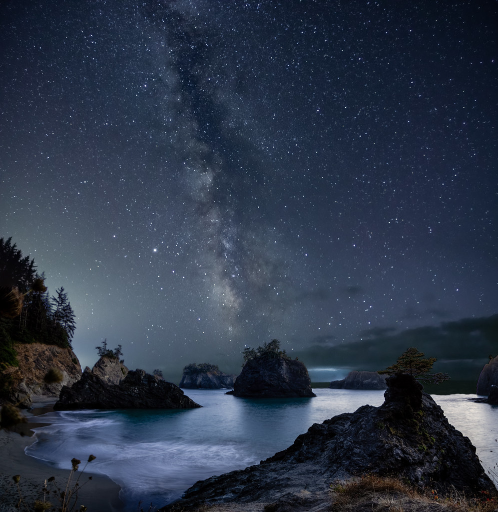 Secret Beach Milky Way