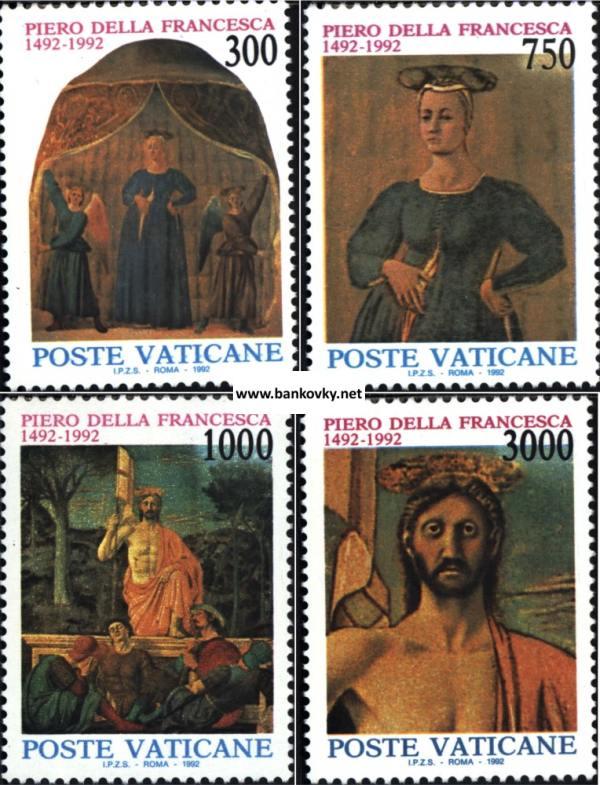 Známky Vatikán 1992 Piero Della Francesca