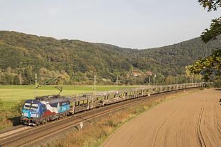 D ČD Cargo 383 009-8 Harrbach 13-09-2020