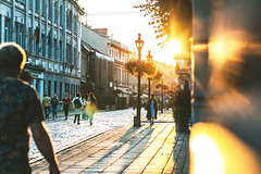 Sunset | Kaunas old town