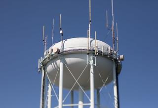 Water tower detail