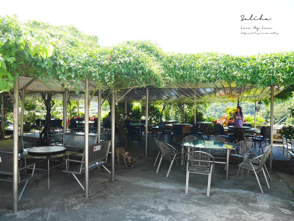 新北石碇一日遊景觀餐廳美食推薦八卦茶園風景超美千島湖秘境庭園餐廳 (1)