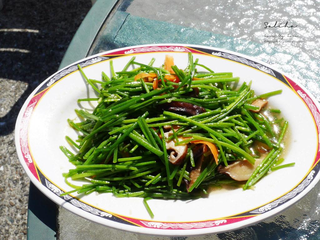 新北石碇八卦茶園 庭園餐廳風景超美可看千島湖中菜熱炒食記 (1)