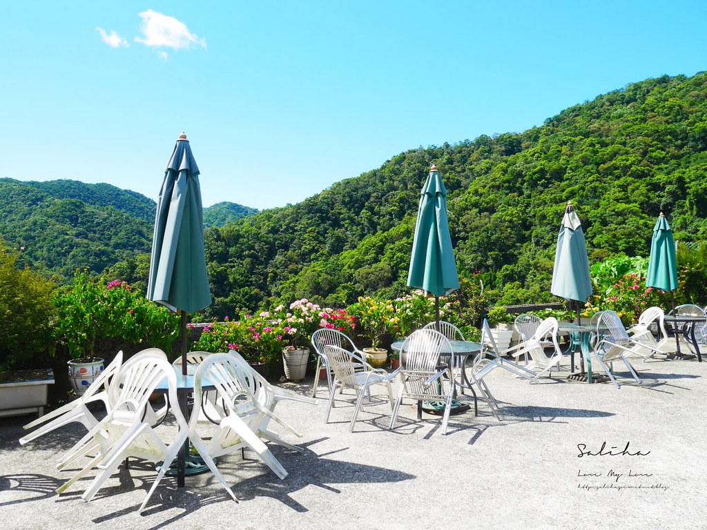 新北石碇一日遊景觀餐廳美食推薦八卦茶園風景超美千島湖秘境庭園餐廳 (2)