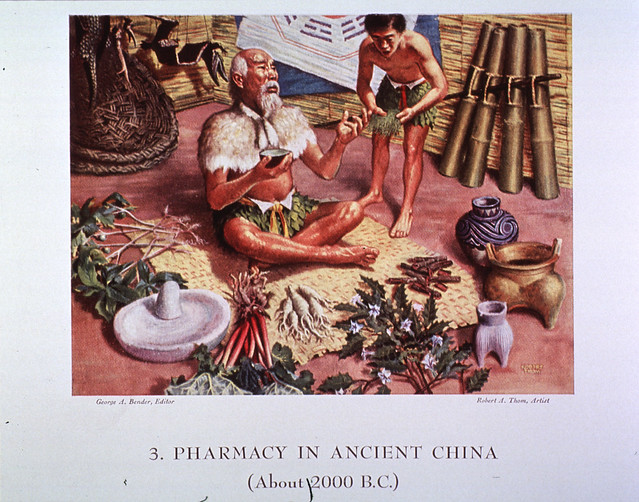 3. Pharmacy in Ancient China (About 2000 B.C.)