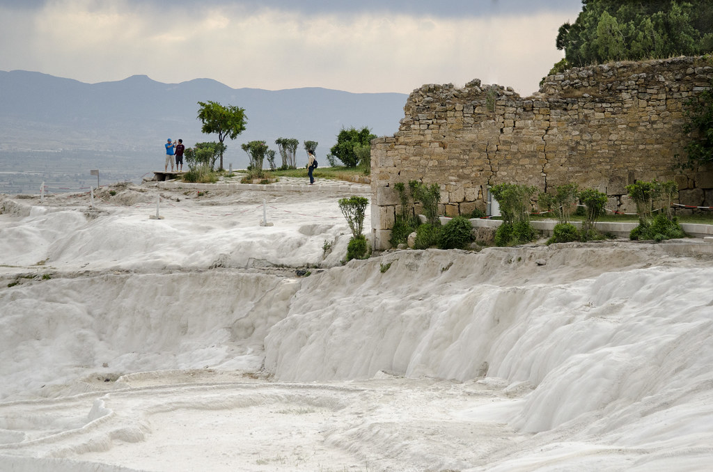 Turkey:  Mineral Deposits At Pamukkale