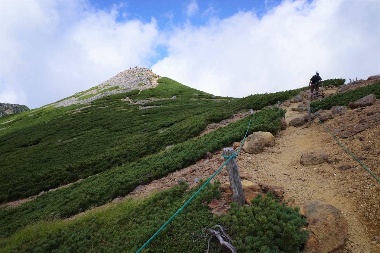 乗鞍岳・富士見岳登山