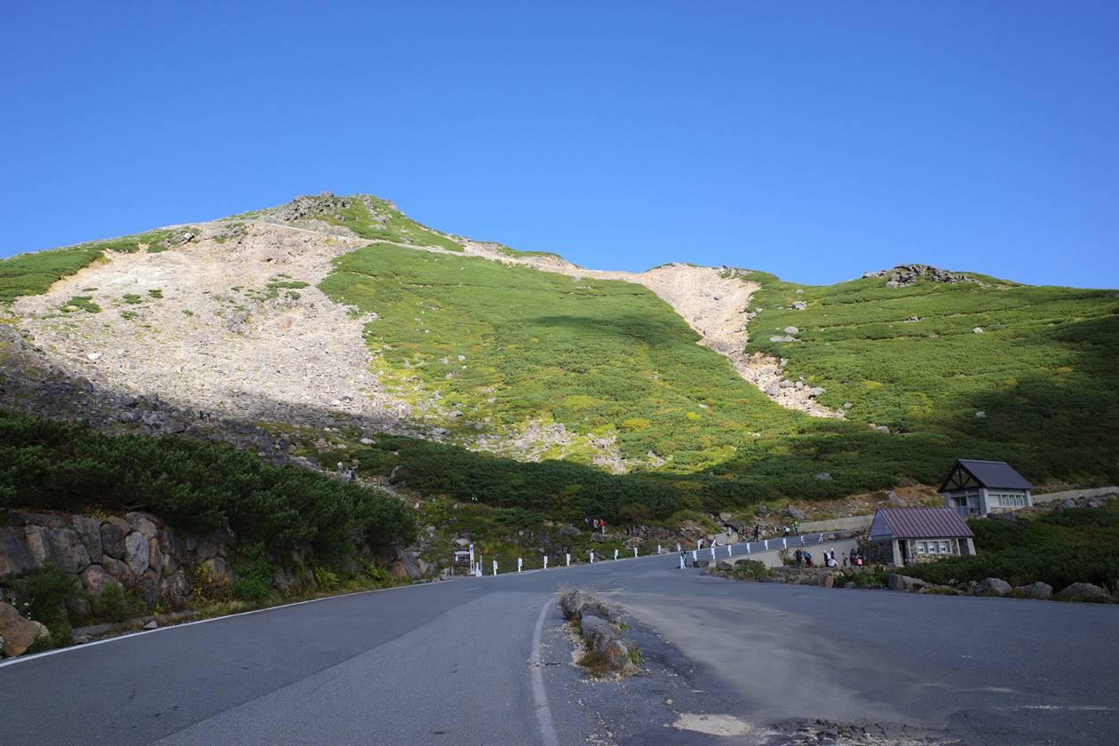 乗鞍岳・肩の小屋口