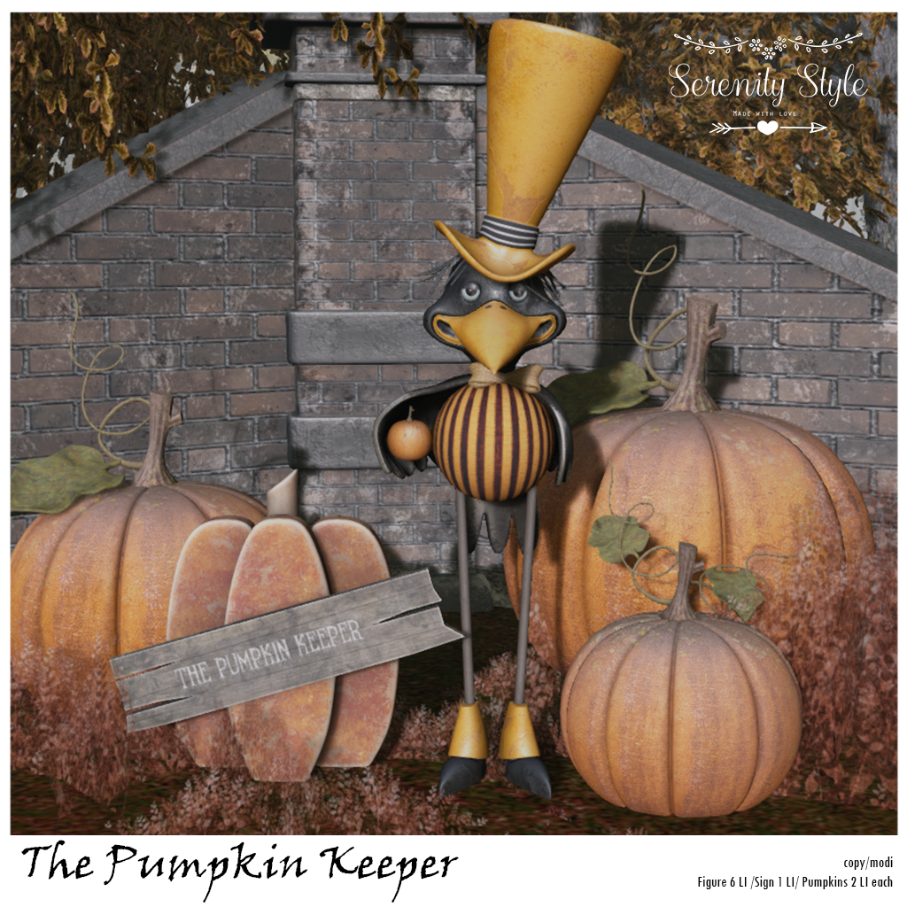 Serenity Style- The Pumpkin Keeper
