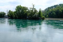 Pointe de la Jonction @ Rhône @ Sentier des Falaises @ Geneva