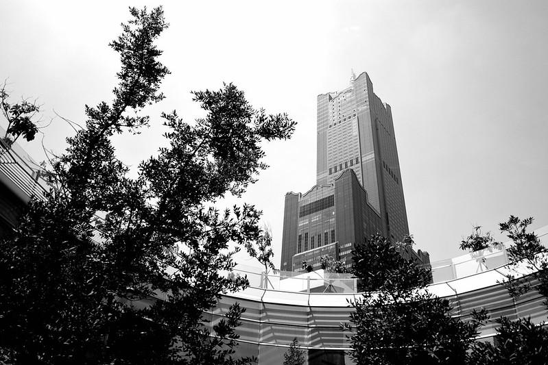 85大樓|GR3 高對比度黑白