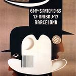 Wed, 2020-04-01 20:45 - CASSANDRE, A. M. (Adolphe Jean-Marie MOURON, 1901-1968).  Ernest (hat shop), Barcelona, 1926.
