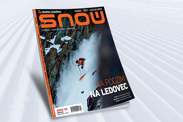 SNOW 124 (říjen 2020) - lyžování na ledovci + 2x skipas zdarma