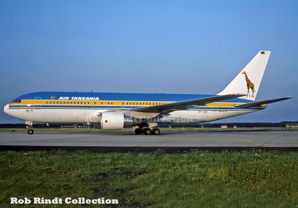 Air Tanzania B767-260/ER ET-AIZ