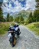 Exploring sideways with my BMW R1250 GS