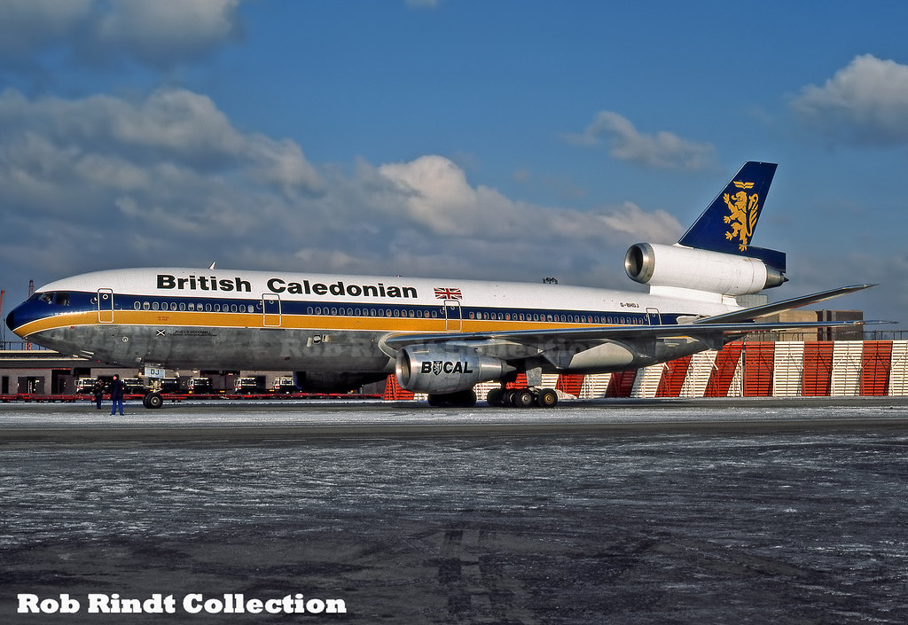 British Caledonian DC-10-30 G-BHDJ