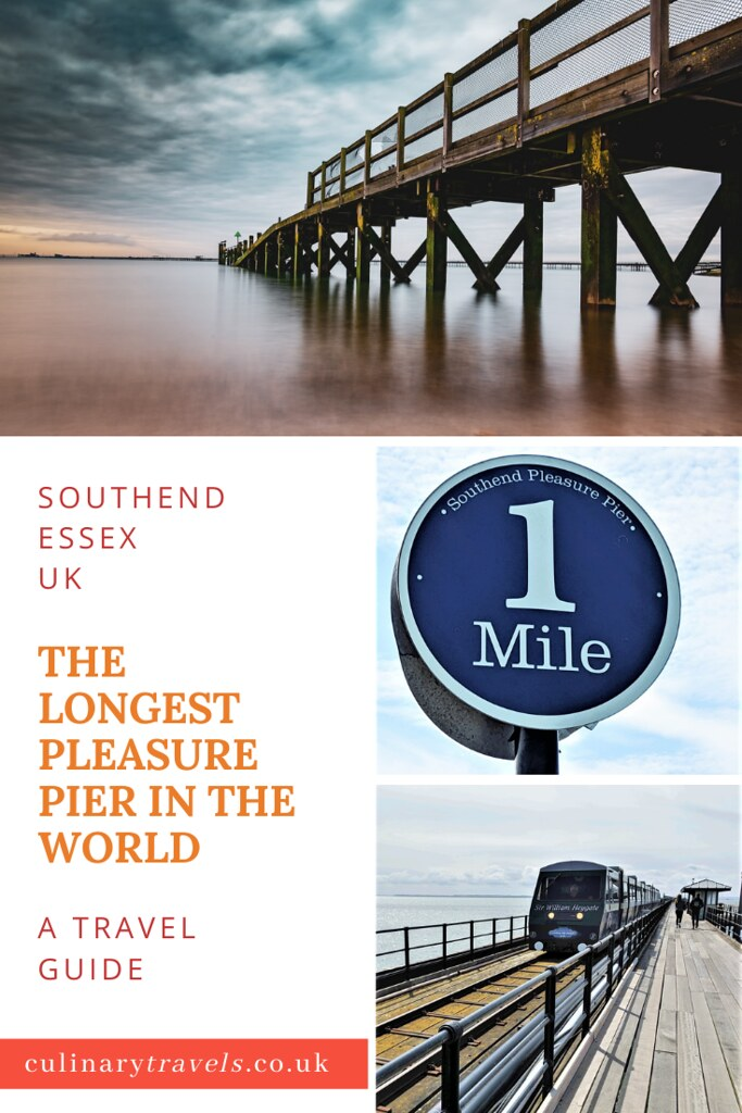 Visit Southend, Essex to see The Longest Pleasure Pier in the World. It makes for a great UK day out or a good base to explore more of England's beautiful South East. Culinary Travels | Georgina Ingham
