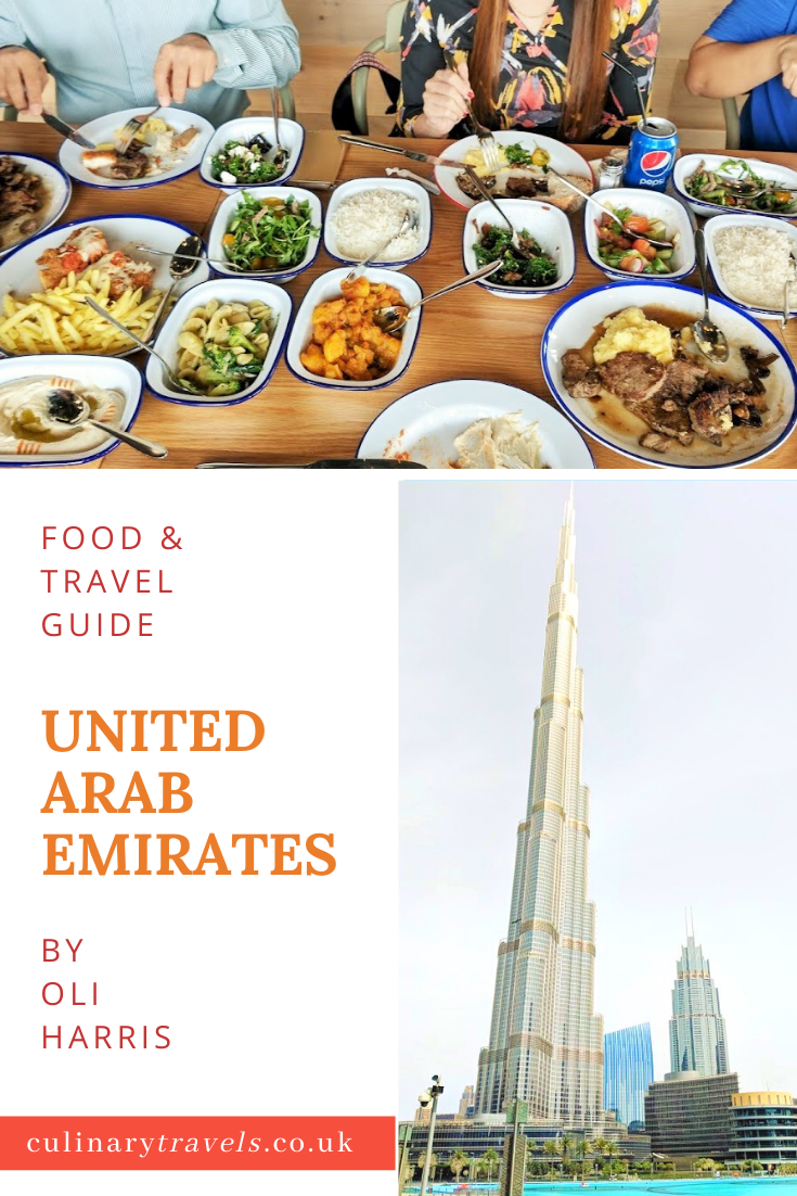 A Food & Travel Guide for the UAE.