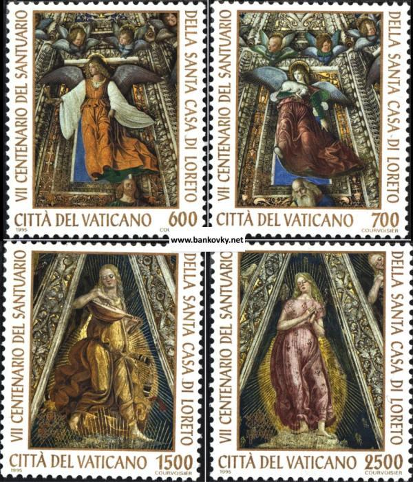 Známky Vatikán 1995 Casa sancta séria MNH