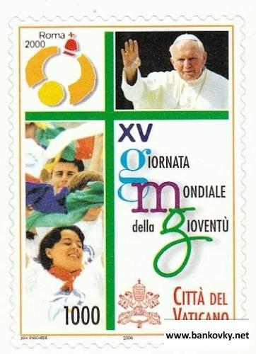 Známka Vatikán 2000 Deň mládeže MNH