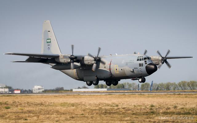 CDG   Royal Saudi Air Force Lockheed C-130H Hercules   1624
