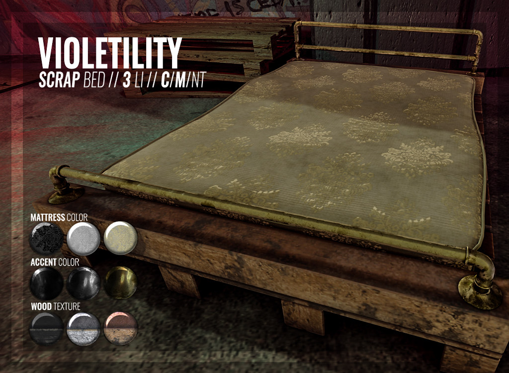 Violetility - Scrap Bed