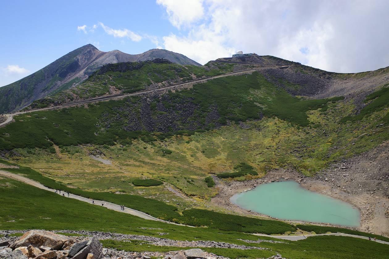 乗鞍岳登山 剣ヶ峰と不消ヶ池