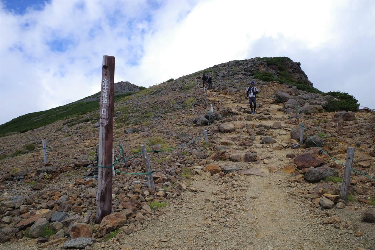 乗鞍岳 富士見岳口