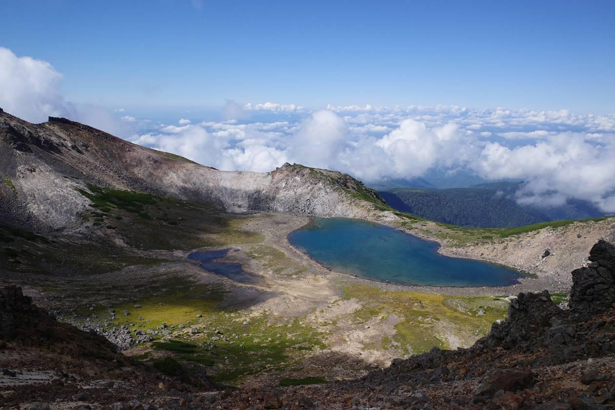 【登山】乗鞍岳 権現池と雲海
