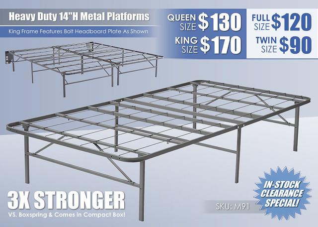 Heavy Duty Metal Platform Foundations 14in_Ashley_M91_Updated