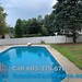 Vinyl Fence for Pool installed in Nashua, NH.