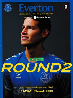 Everton v Salford City 16/09/2020