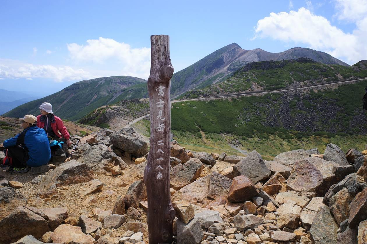 乗鞍岳・富士見岳山頂