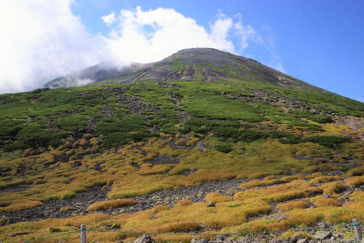 草紅葉の乗鞍岳 日帰り登山