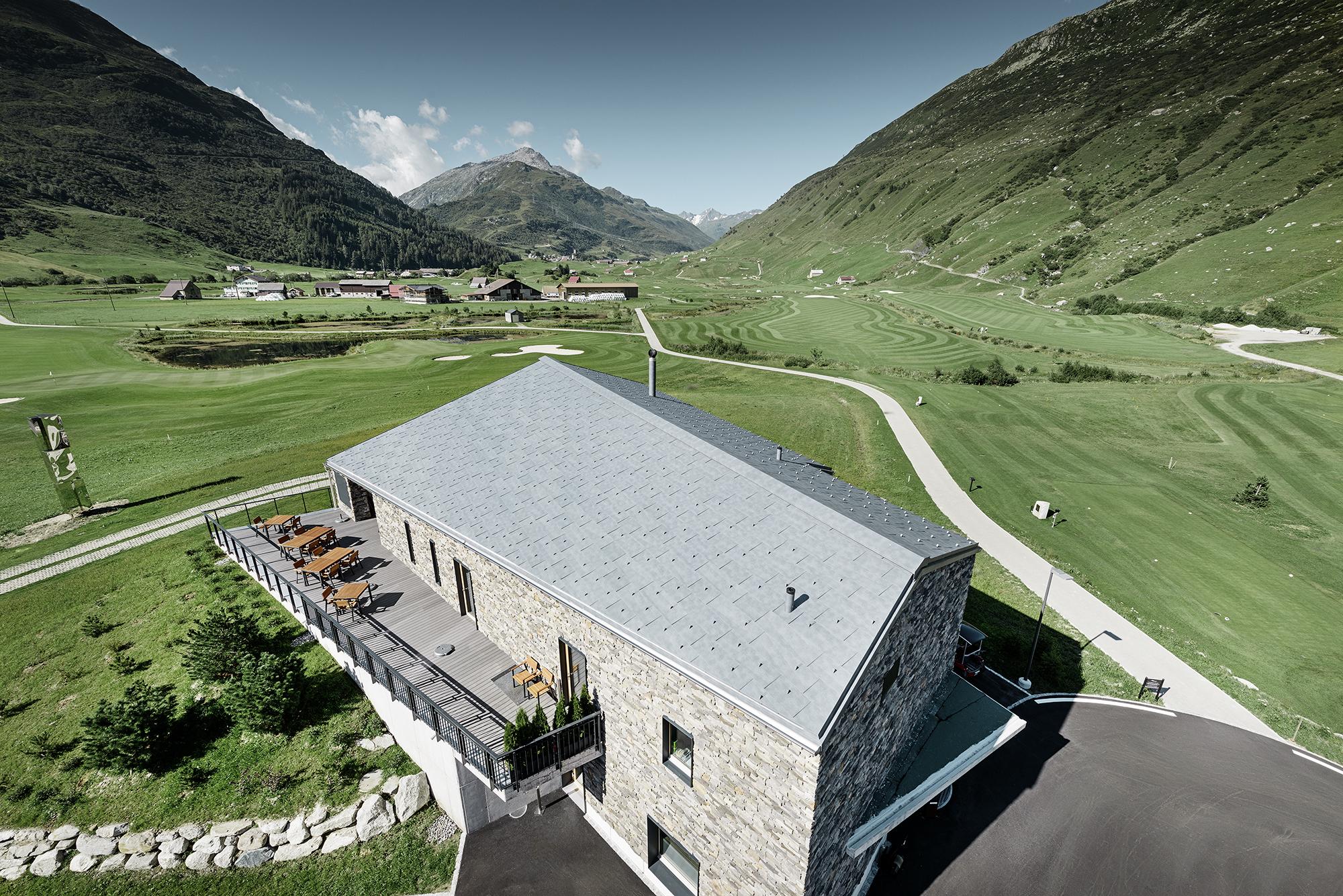 2018 Andermatt Golfclub House