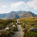 Walking to Llyn Idwal, Snowdonia