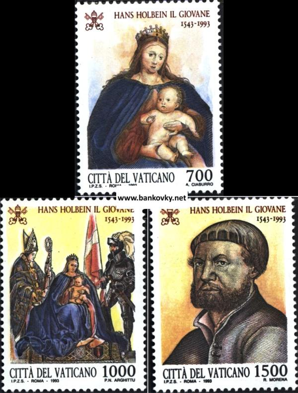 Známky Vatikán 1993 Holbein séria