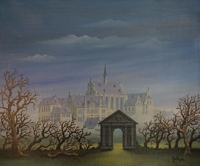 Ancient abbey of Roosendael - The gate to the past - de poort naar het verleden