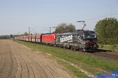 193 318 + 193 333 . DB Cargo . 48739 . Kaarst . 22.09.20.