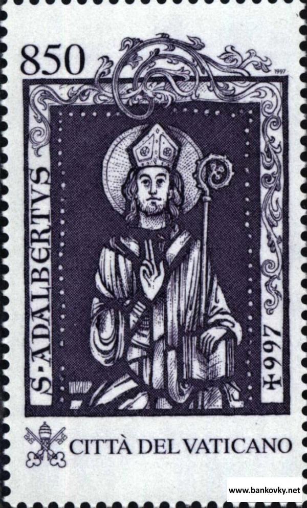 Známka Vatikán 1997 Svätý Adalbert MNH