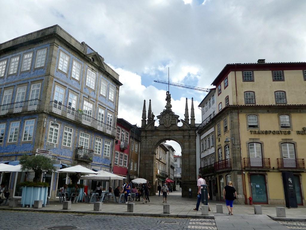 The Porto Nova Arch, Braga