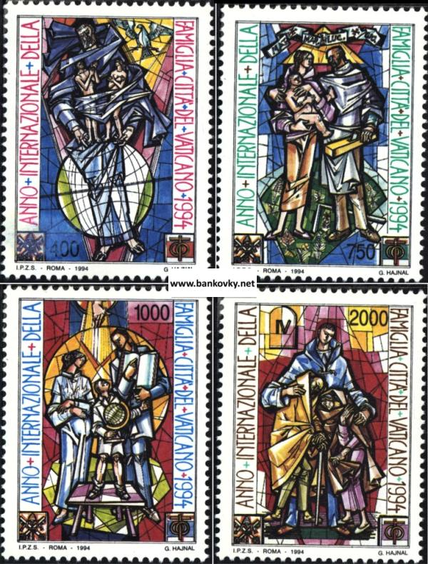 Známky Vatikán 1994 Rok rodiny séria MNH