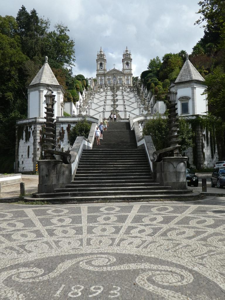 The Bom Jesus Monumental Staircase, Braga