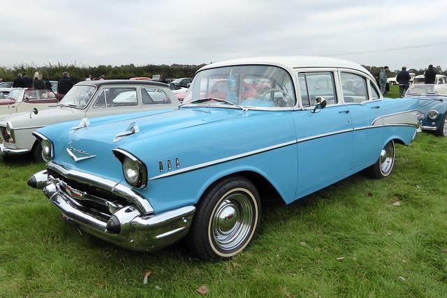 1957 Chevrolet Bel Air Second generation - FSK 321 - Earls Barton 16Sep20
