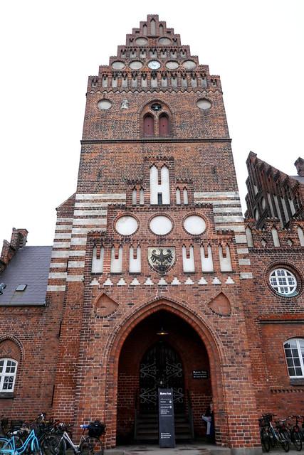 Tour de l'Hôtel de Ville, 1884, Staendertorvet, Roskilde, Sjælland, Danemark.