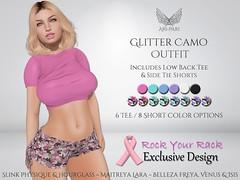 [Ari-Pari] Glitter Camo Outfit